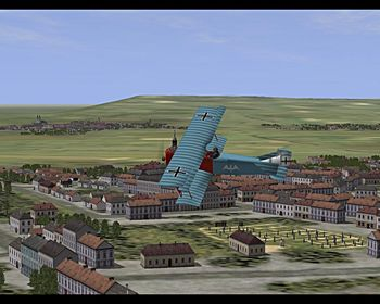 Canvas Knights - Fokker D.VII - Screenshot by EasyRider (05-Mar-2009)