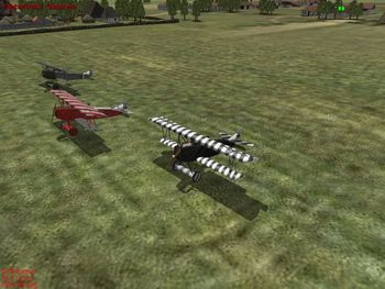 Canvas Knights - Some Fokker D.VII - Screenshot by EasyRider (31-Mar-2009)