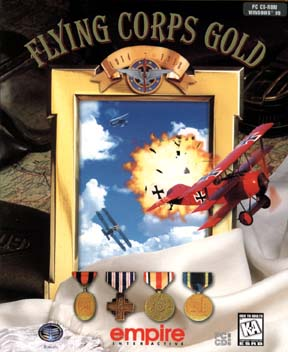 Flying Corps Gold Logo