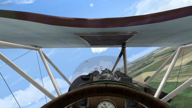 Albatros D.III (Early) cockpit