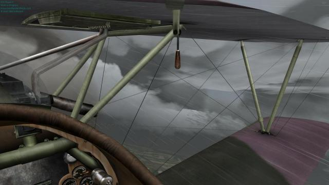 Albatros cockpit