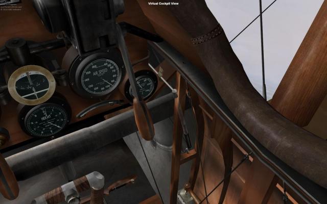 Sopwith Camel F.I Cockpit