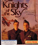 Knights Of The Sky PC Box Cover (1991)