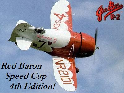 Red Baron 3D - SpeedCup Logo