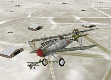EAW WWI - Albatros D.V - Screenshot by Flying Tiger (14-Jan-2009)