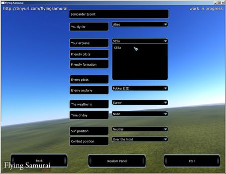 Flying Samurai - WIP - Screenshot by Flying Samurai Development Team (15-Oct-2009)