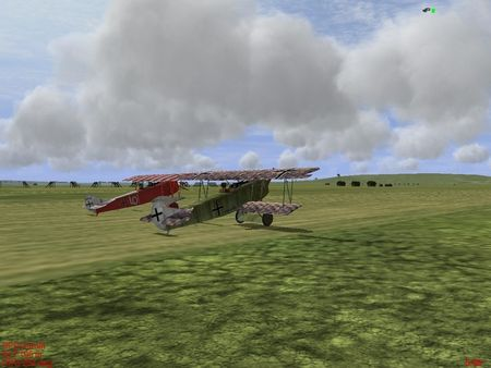 IL-2 WWI OOF - WIP Two Fokker D.VII - Screenshot by Python (01-Mar-2009)
