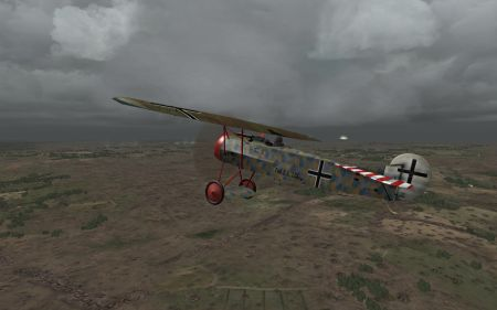 OFF Phase 3 WIP - Fokker D.VIII - Screenshot by Polovski (07-Aug-2009)