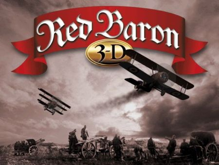 Red Baron 3D - Title Screen  - (1998)