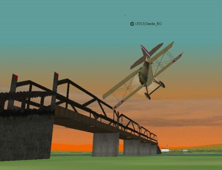 Red Baron II/3D - SpeedCup III Finish Line - Screenshot by REBS_Arland (25-Nov-2001)
