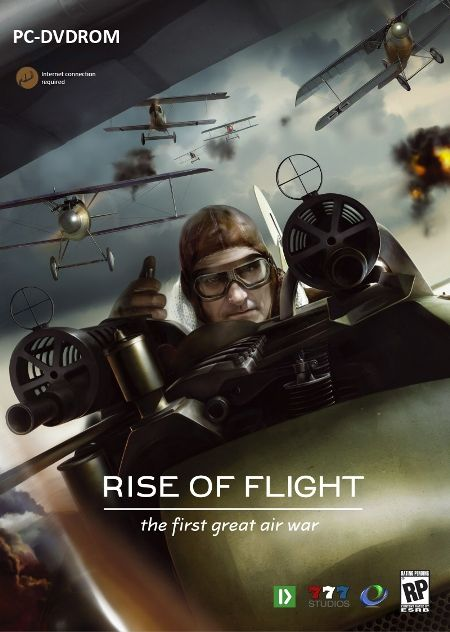 Rise Of Flight - PC US Box Cover - Image by 777 Studios (20-May-2009)