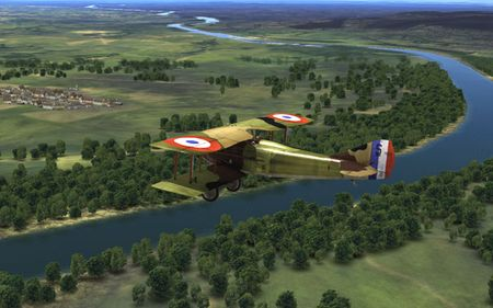 RoF Preview - Spad XIII - Screenshot by SimHQ / Doug 'goud' Atkinson (27-Feb-2009)