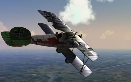 oF Preview - Damaged Jasta 5 Albatros D.V - Screenshot by SimHQ / Doug 'guod' Atkinson (27-Feb-2009)