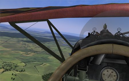 Rise Of Flight - Albatros D.V - screenshot by Gremlin (22-Oct-2009)