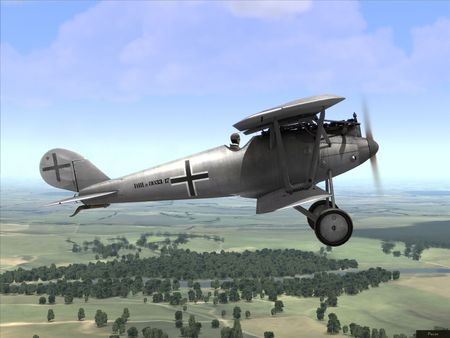 Rise Of Flight - German Pfalz D.III - Screenshot by neoqb (28-Jul-2009)