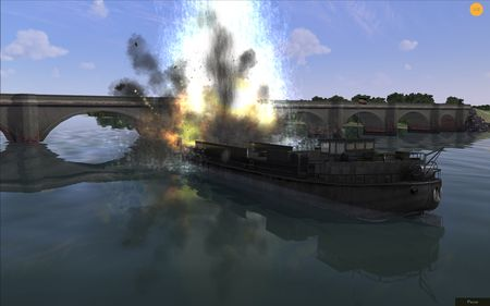 RoF WIP - River Ship - Screenshot by neoqb (20-Sep-2009)