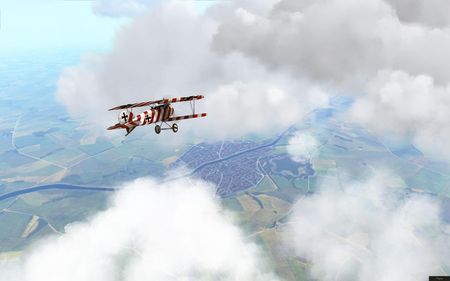 Rise Of Flight - WIP Plane Skins - Screenshot by neoqb (20-Sep-2009)