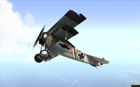 Rise Of Flight - Fokker Dr.I - screenshot by neoqb (23-Oct-2009)