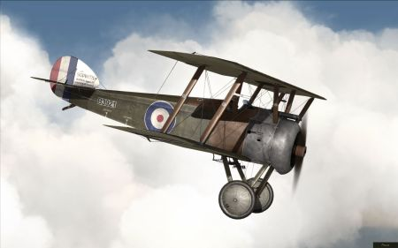 Rise Of Flight - Sopwith Camel - screenshot by neoqb (23-Oct-2009)