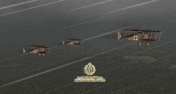 Phase 3 - A flight of Halberstadt D.II on patrol - Screenshot by Polovski (09-Nov-2008)