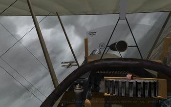 Phase 3 - S.E.5a cockpit - Screenshot by Polovski (Nov-2008)