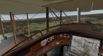 Phase 3 - SPAD cockpit - Screenshot by Polovski (Nov-2008)