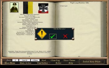Phase 3 - Pilot Enlistment Screen - Screenshot by Gremlin (15-Feb-2009)