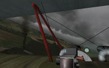 Phase 3 V1.30 - Fokker Dr.I Cockpit - Screenshot by Gremlin (05-Apr-2009)