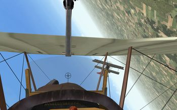 Phase 3 V1.30 - SE.5a hunting Fokker D.VII - Screenshot by Gremlin (06-Apr-2009)