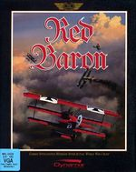 Red Baron PC Box Cover (1990)