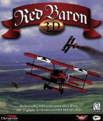 Red Baron 3D PC Box Cover (1998)