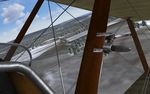 Rise Of Flight - Fly Now: Sopwith Camel cockpit- Screenshot by Gremlin (13-Feb-2010)