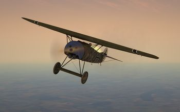 Rise Of Flight - Fokker D.VIII 'Flying Razor' - Screenshot by Gremlin (22-Feb-2010)
