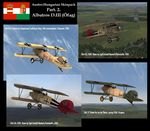 Plane Texture Pack for Austro-Hungarian Albatros D.III (Oefag) Part 2