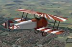 Plane Texture for Sopwith Camel F.I of a RAF Training Center flown by an unknown pilot