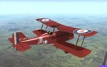 "Plane Texture for SE.5a of 2 Squadron AFC flown by Cpt. Leslie Holden - called ""The Red Devil"""