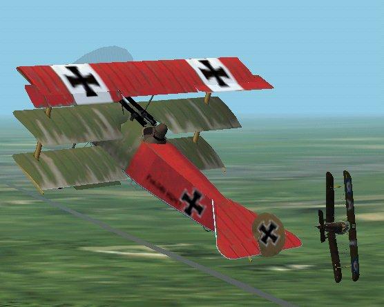 Games - WWI Air Combat flight sims