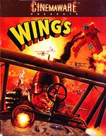 Wings - Amiga Box Cover (1990)